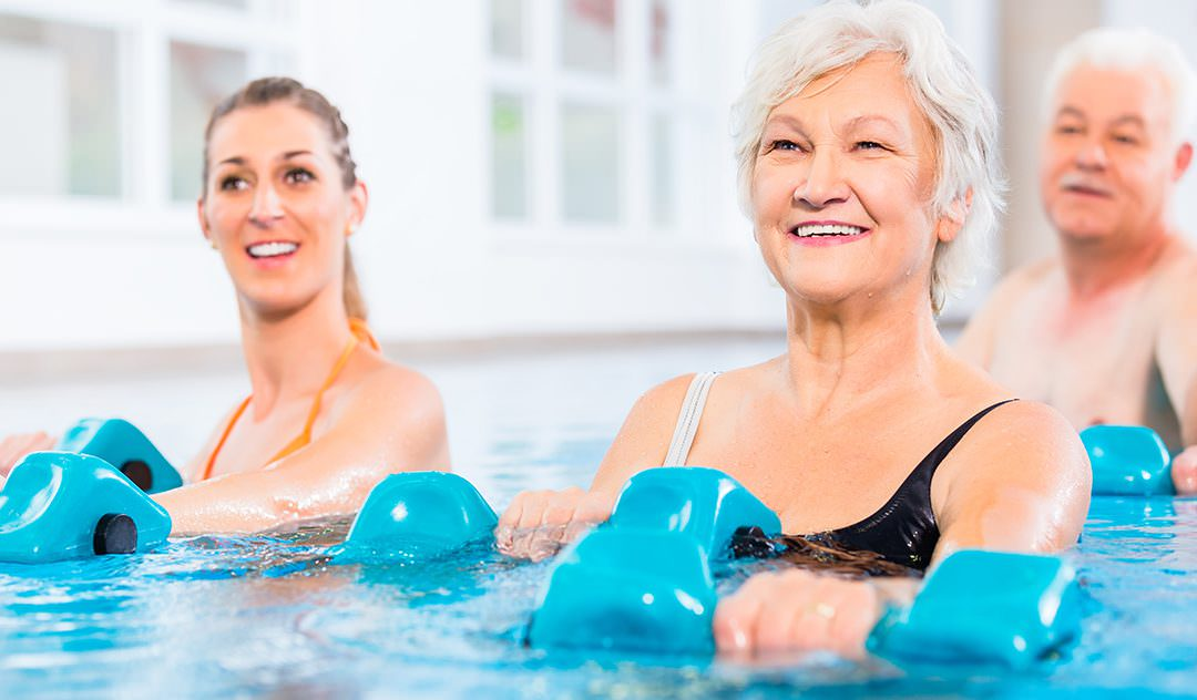 Pools Offer Fitness and Relief for Older Adults